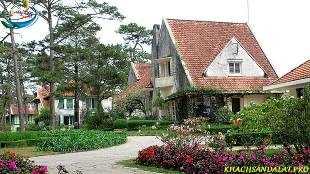 Tour langbiang đà lạt khu biệt thự cổ