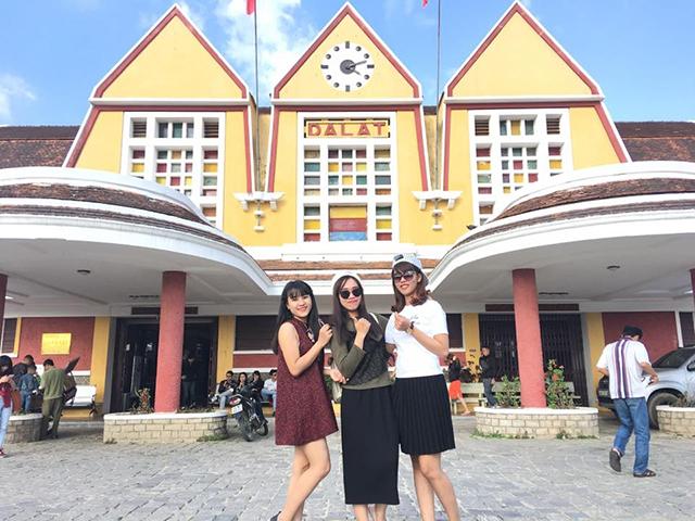 Tour langbiang nhà ga Đà Lạt