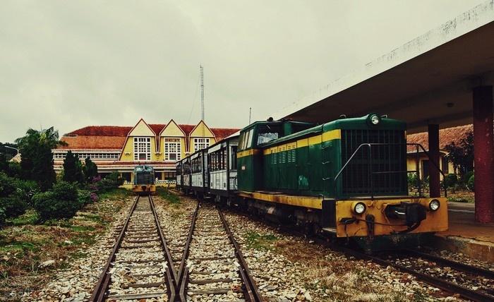 Tour nhà ga langbiang Đà Lạt