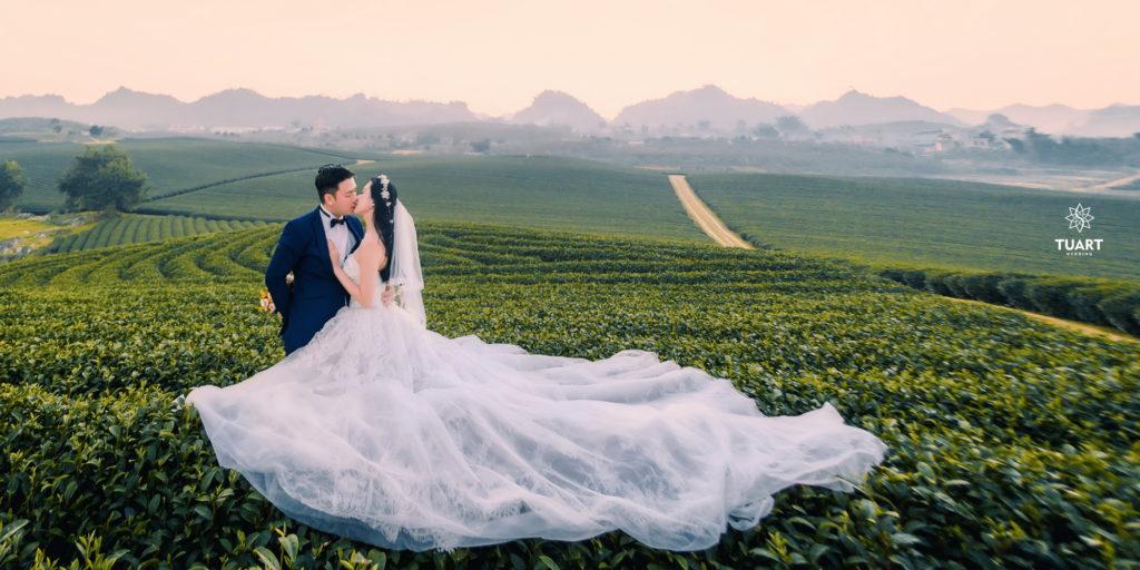 Chụp ảnh cưới Đà Lạt chọn gói