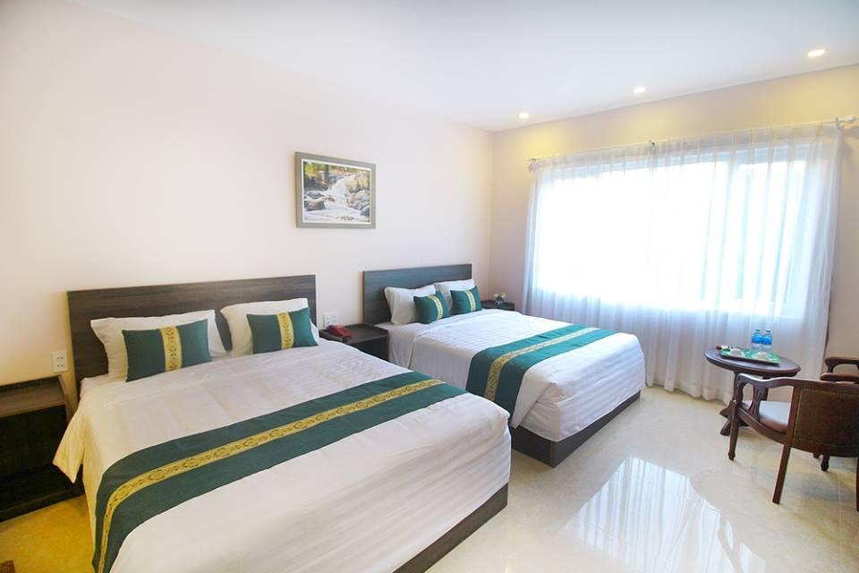 Phòng đôi khách sạn Ecogreen Đà Lạt