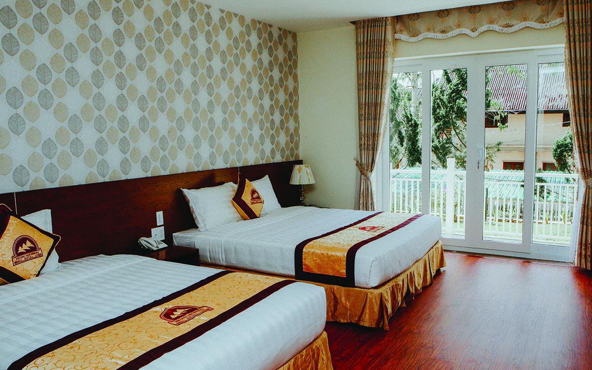 Khách sạn 3 sao Phương Nam Mimosa Đà Lạt