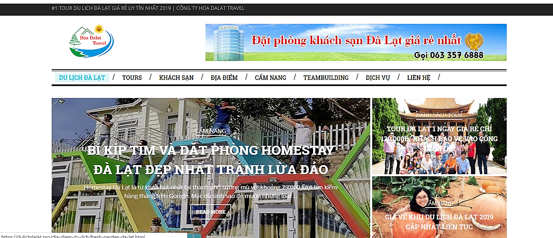 Thiết kế website ở Đà Lạt