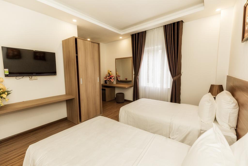 Phòng 2 giường đơn khách sạn President Đà Lạt