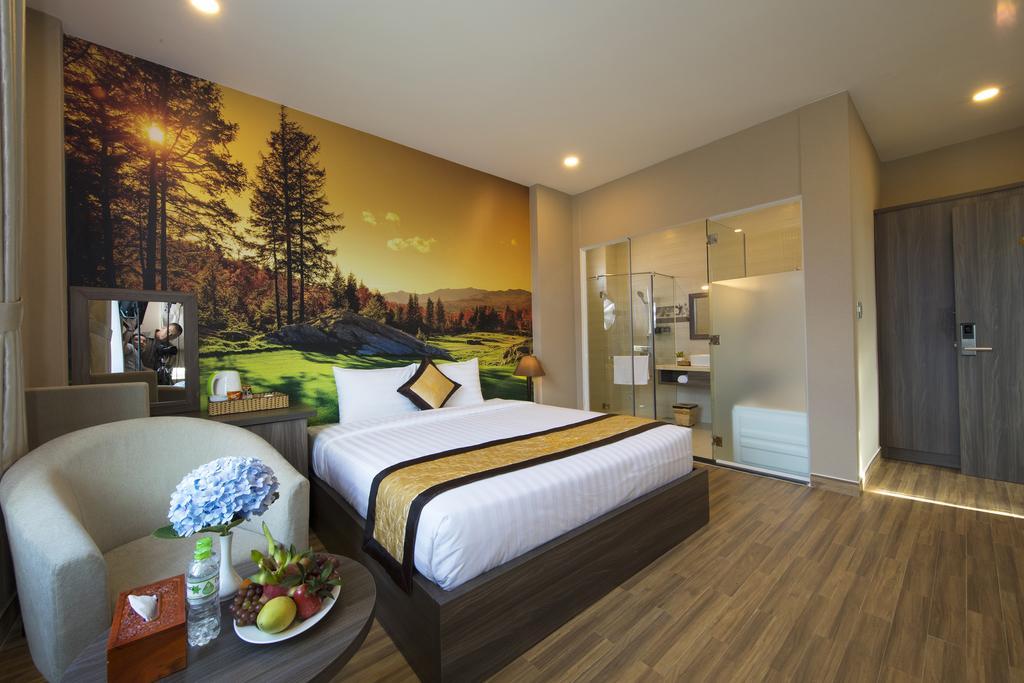 phòng deluxe giường đôi dalat wonder resort