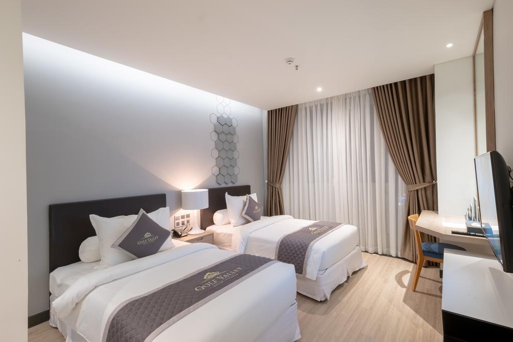 phòng superior 2 giường đơn khách sạn golf valley