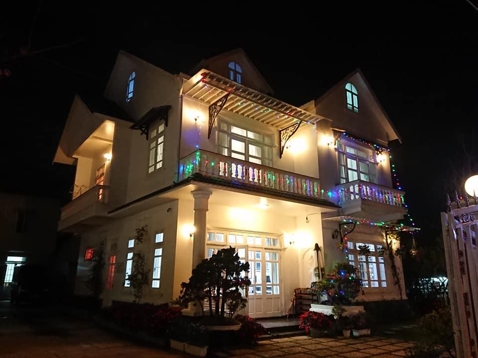 Villa Cẩm Tú Cầu Đà Lạt về đêm