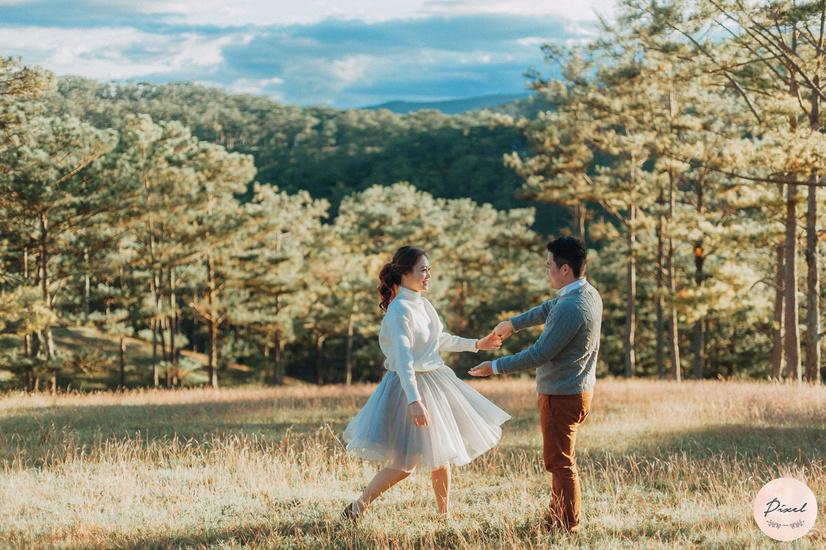 Chụp ảnh cưới Đà Lạt đẹp