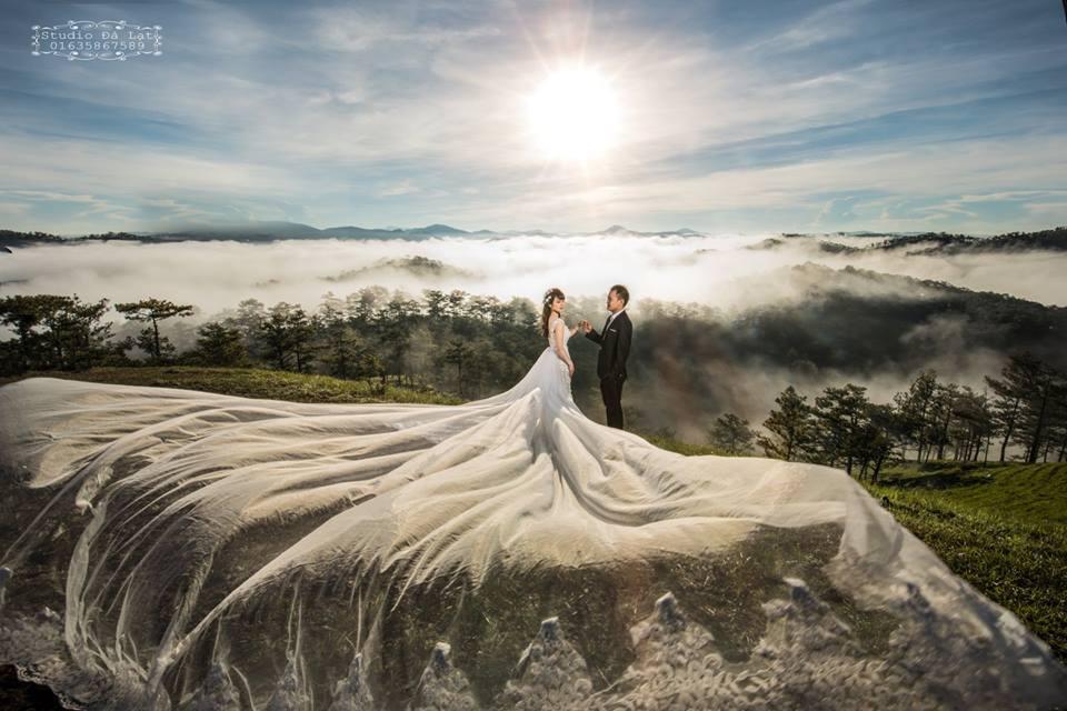 Những bộ ảnh cưới đẹp ở Đà Lạt