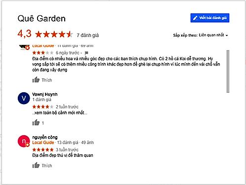 review que garden Đà Lạt