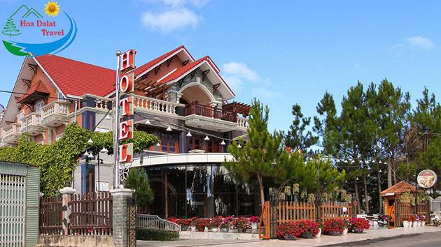 Địa chỉ khách sạn đông dương Đà Lạt