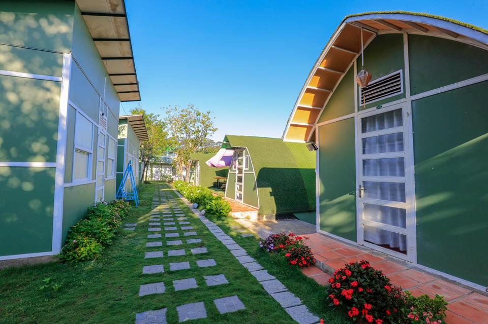 khu nghỉ dưỡng green land