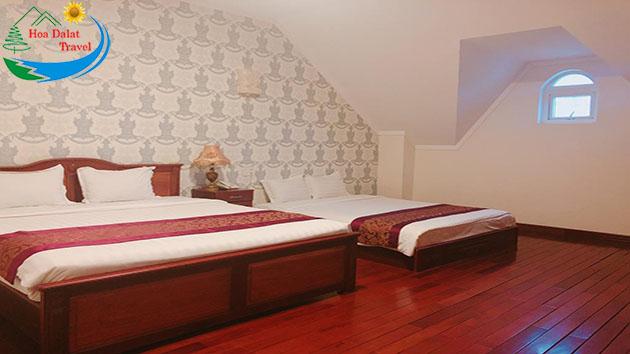 Phòng 3 người khách sạn Đông Dương Đà Lạt