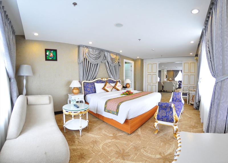 phòng President Suite King Khách sạn Dragon King Đà Lạt