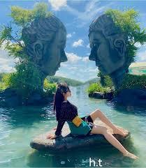 check in Hồ Vô Cực Đà Lạt