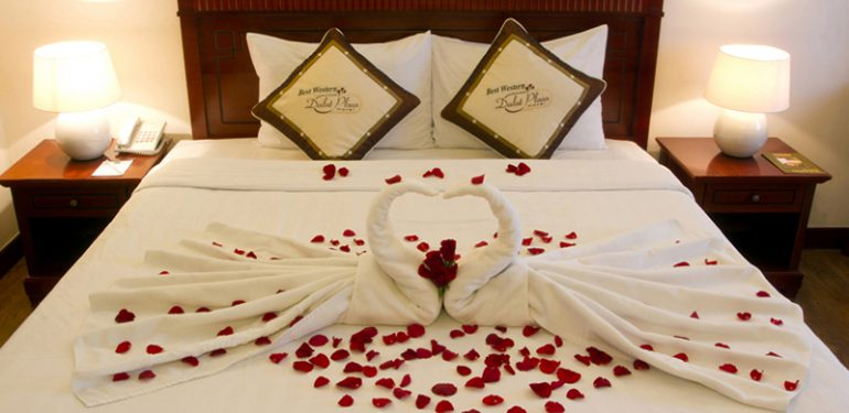 phòng deluxe khách sạn Dalat Plaza