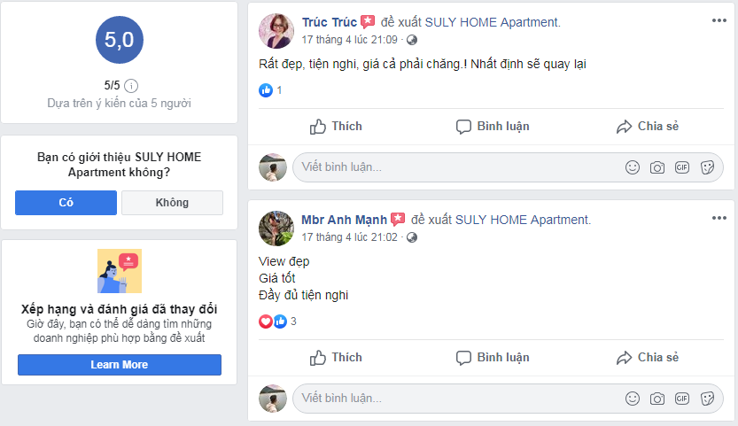 review suly home Đà Lạt