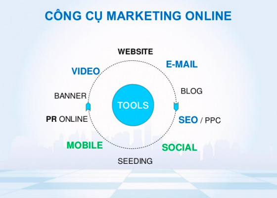công cụ marketing online