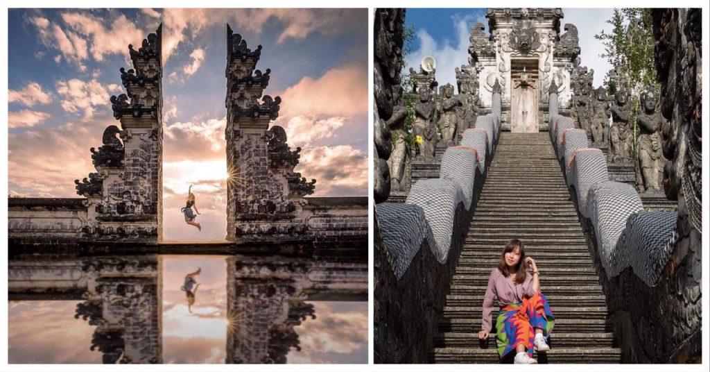 cổng trời Bali phiên bản gốc