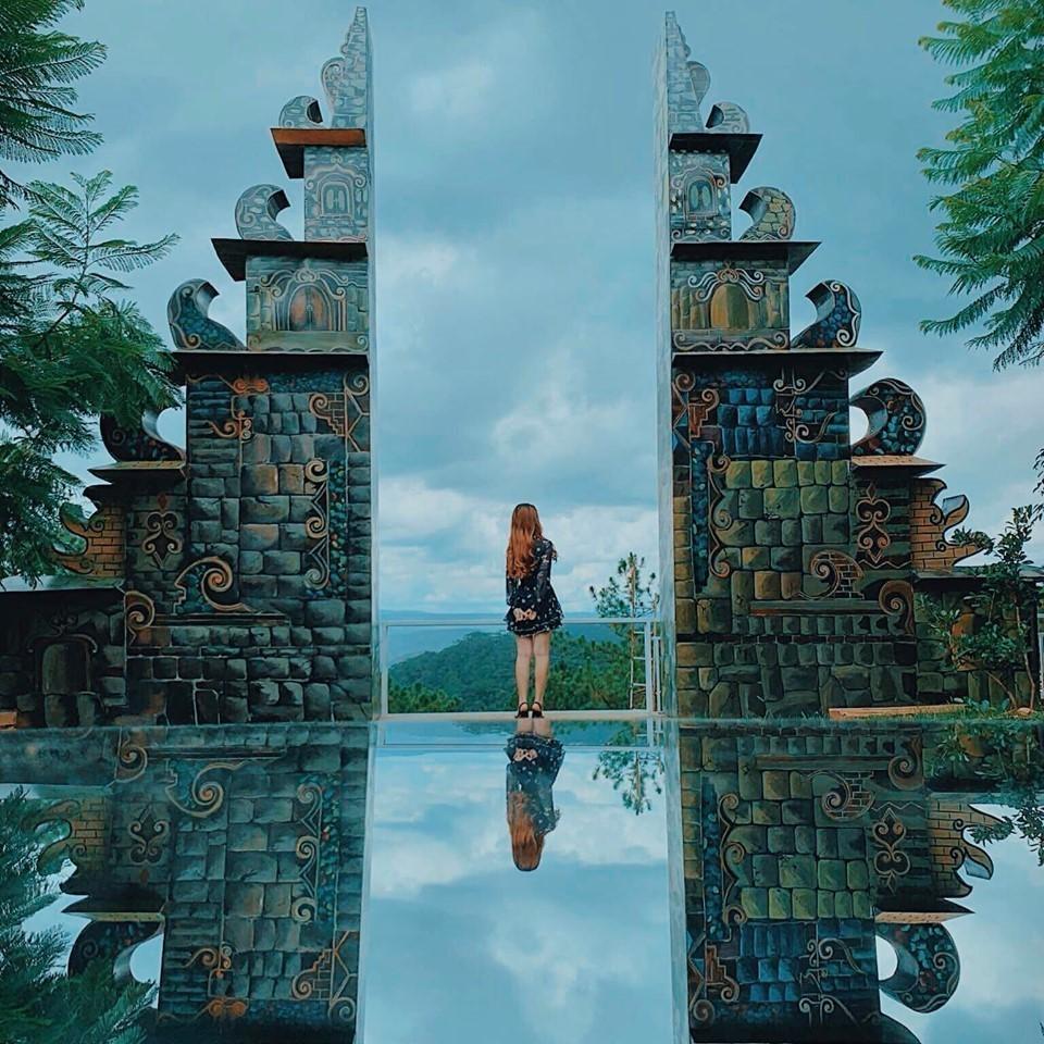 Cổng trời Bali tại Đà Lạt