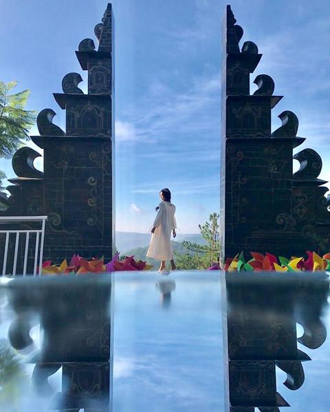 đường đi cổng trời Bali Đà Lạt