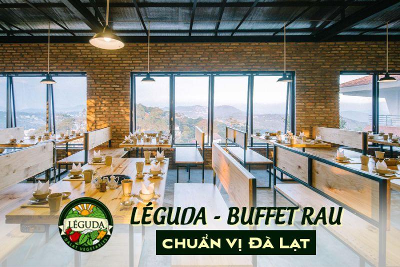 Nhà hàng buffet rau LeGuda Đà Lạt