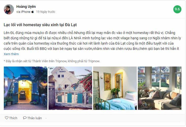 Review homestay Là Nhà Đà Lạt