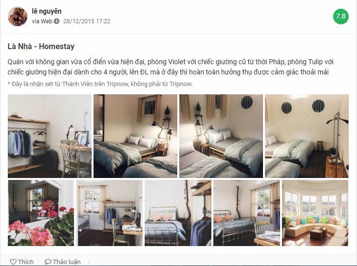 Review Là Nhà homestay