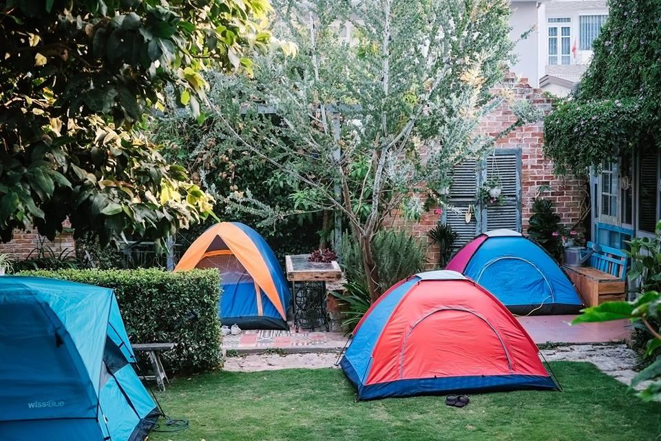 Thuê lều ở Là Nhà Đà Lạt