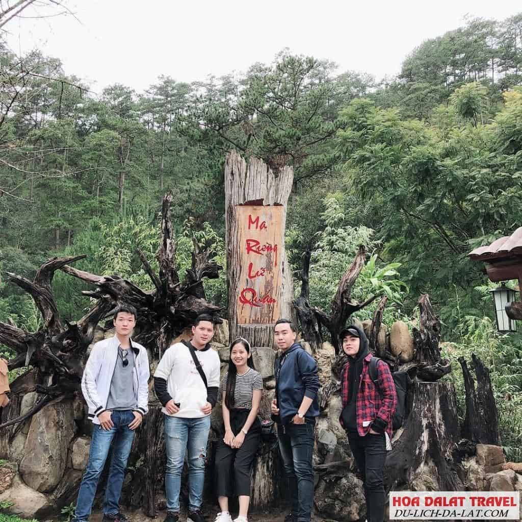 Check in Ma rừng lữ quán