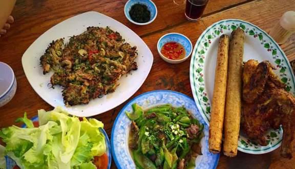 gà nướng cơm lam đà lạt