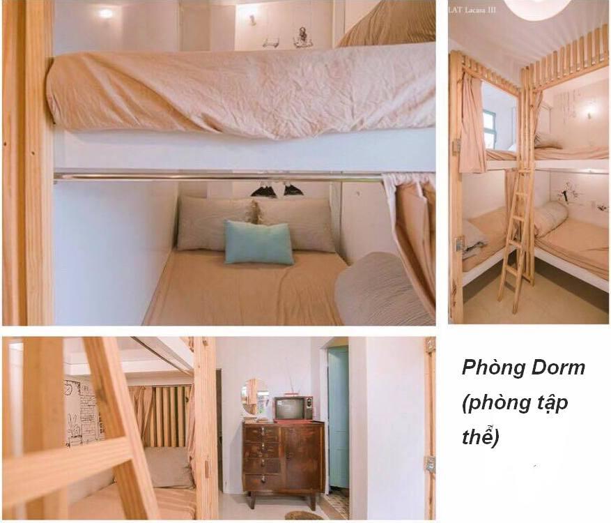 phòng dorm Dalat Lacasa homestay