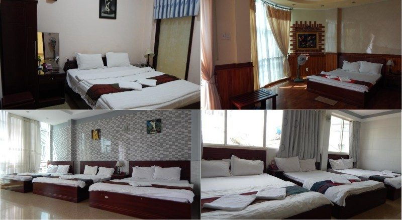 Phòng khách sạn Anna Sương ở Đà Lạt