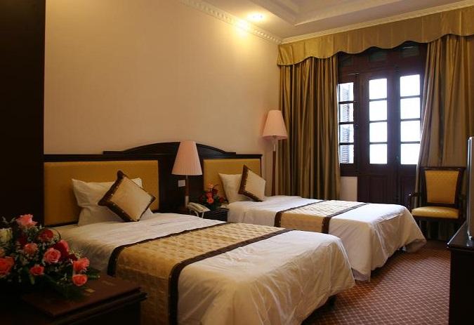 Phòng khách sạn công đoàn Đà Lạt
