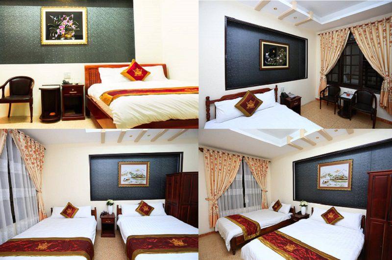 Phòng khách sạn Hoàng Gia ở Đà Lạt