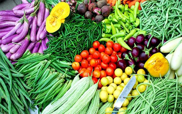 rau củ quả ở Đà Lạt