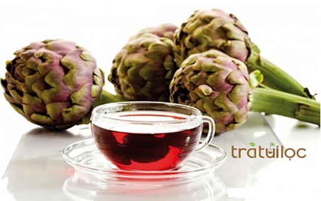 trà atiso Đà Lạt