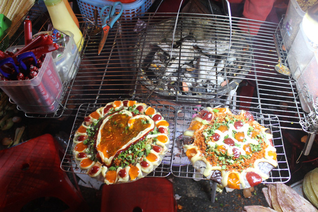 Bánh tráng nướng ngon ở Đà Lạt