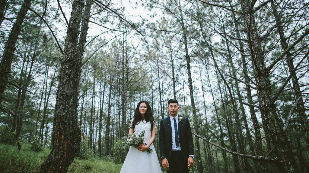 Chụp ảnh cưới ở Dinh 1