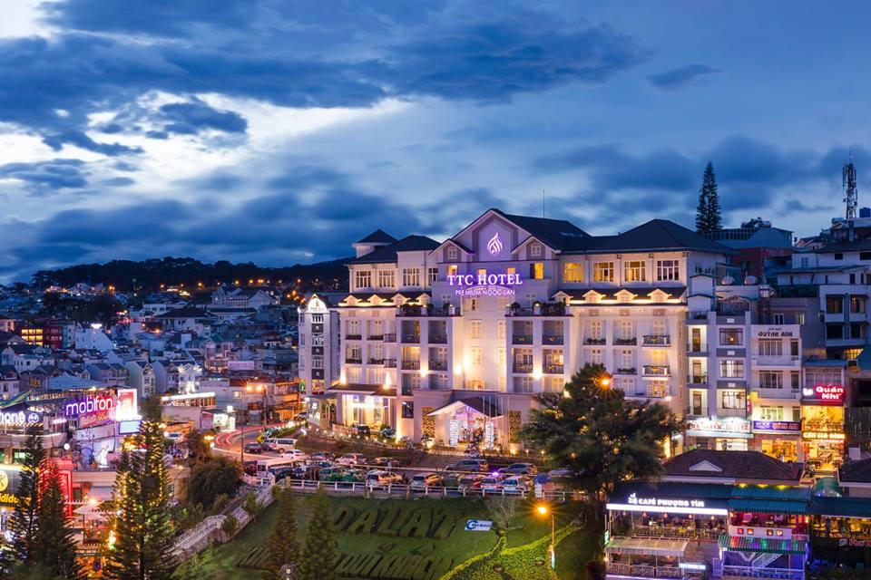 khách sạn đường Nguyễn Chí Thanh Đà Lạt