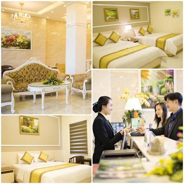 Khách sạn Hoàng Minh Châu ở Đà Lạt