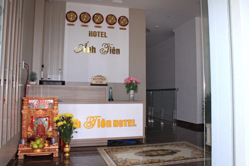 số điện thoại khách sạn Ánh Tiên