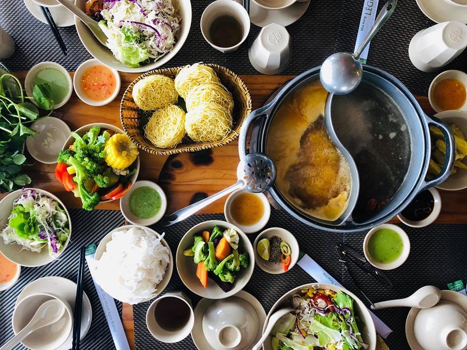 buffet rau Đà Lạt