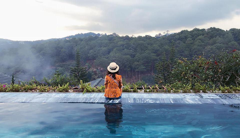 hồ bơi zen valley resort