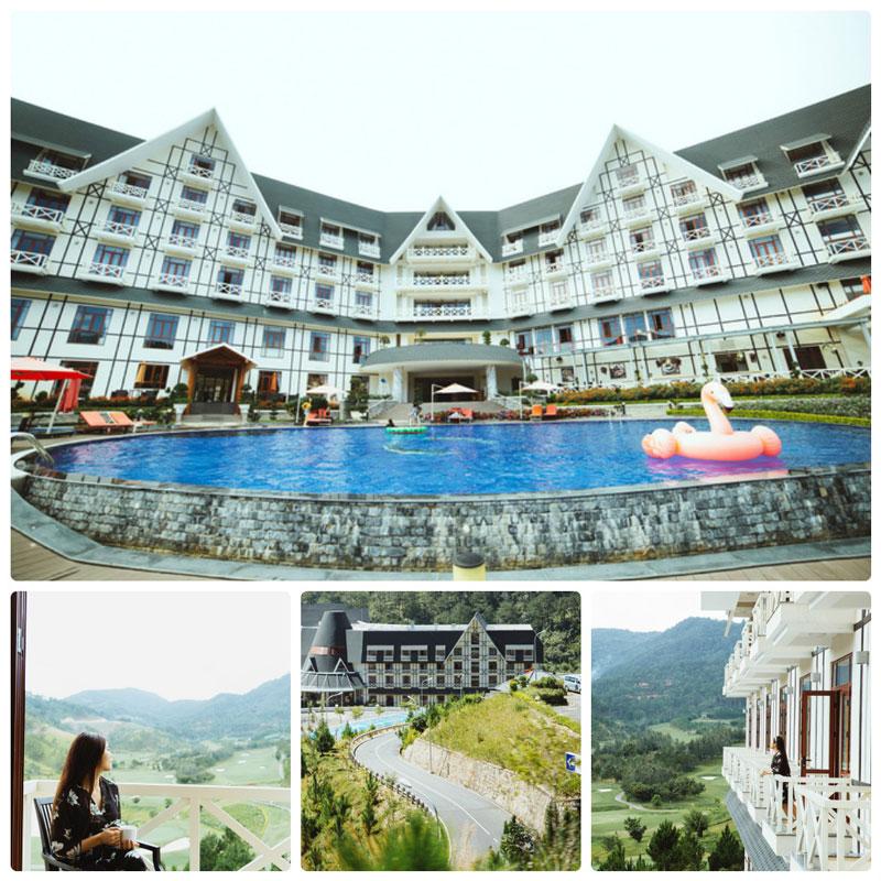 khách sạn có hồ bơi ở Đà Lạt