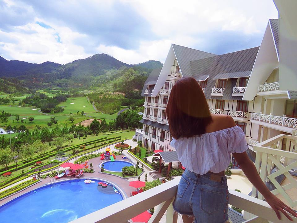 khách sạn ở đà lạt có hồ bơi