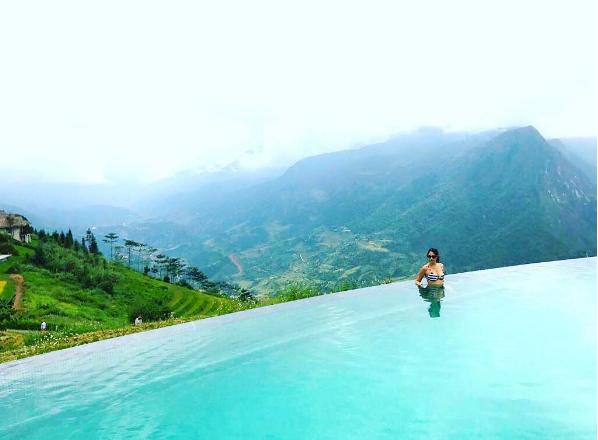 resort Đà Lạt có hồ bơi