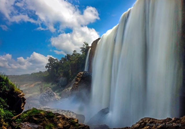 thác bảo đại ở Đà Lạt