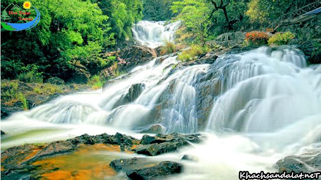 thác datanla ở Đà Lạt