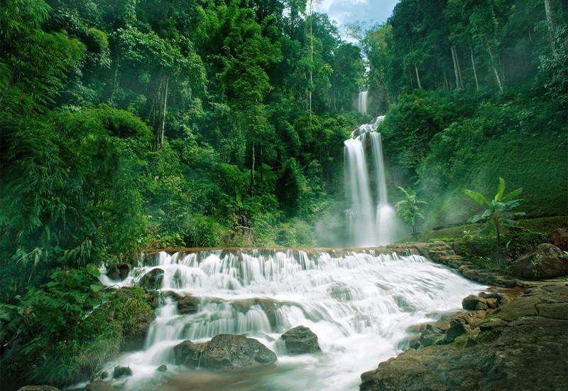 thác nước tại Đà Lạt